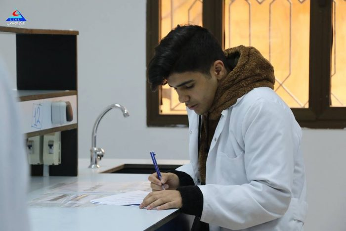 First Year BMS Students Undergo An OSPE Examination